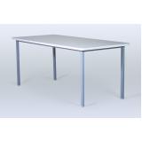 onde encontrar mesas e cadeiras para refeitório empresarial Jardim Tupanci