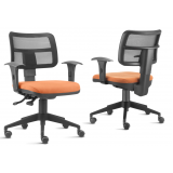 onde encontro cadeira executiva de escritório no Alphaville Residencial Dois