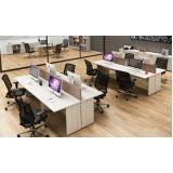 plataformas de trabalho 6 lugares no Residencial Onze