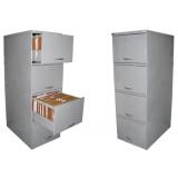 quanto custa armário de aço para escritório na Santa Efigênia