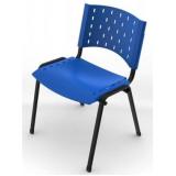 quanto custa cadeira para escritório de plástico no Residencial Oito