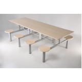 quanto custa conjunto de mesa e cadeiras para refeitório em Raposo Tavares