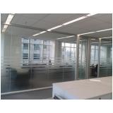 quanto custa divisórias para escritório de vidro Parque São Domingos