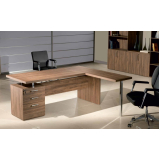quanto custa mesa para escritório em formato de l em Mauá