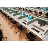 quanto custa mobiliário para call center em Suzano